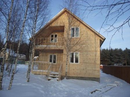 Двухэтажные дачи фото